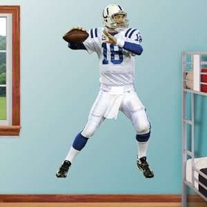 Peyton Manning   Away Indianapolis Colts NFL Fathead REAL