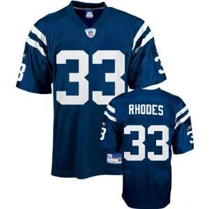 Dominic Rhodes Blue Reebok NFL Indianapolis Colts Toddler Jersey