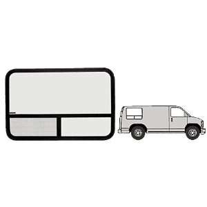 Window   Passenger Side Rear 1975 1991 Ford Vans 41 1/4 x 29 3/8