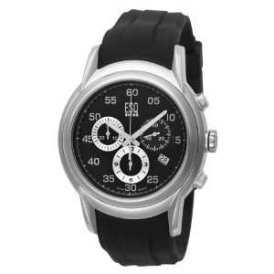 ESQ by Movado Mens 7301328 Quest Black Rubber Band