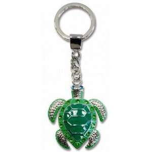 Hawaii Souvenir Key Chain Honu Turtle Metal Bling Kitchen