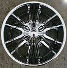 ROX BREAK 321 20 CHROME RIMS WHEELS LINCOLN MARK LT / 20 X 8.5 6H +25