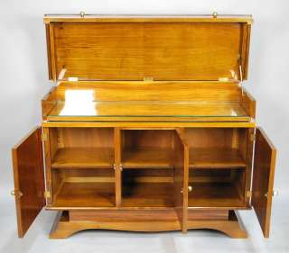 FINE FRENCH MID CENTURY MODERN ART DECO STYLE BAR CABINET BUFFET