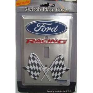 Ford Racing Single Light Switch Plate Cover Sports