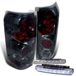 Eautolights 89 96 Ford F150 F250 Bronco Tail Lights + LED