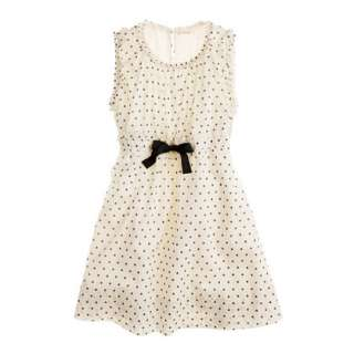 Girls ruffle round dress   party   Girls dresses   J.Crew