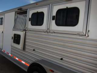 2003 CM Trailers Norstar 28 3 Horse Trailer, 1 Owner, Living Quarters