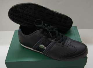 LACOSTE SPORT Men Tourelle Fashion Sneakers   Black NEW NIB
