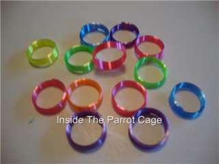 48 PLASTIC COIL RINGS NEON NOVELTY TOYS PARTY FAVORS