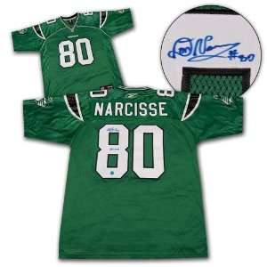 Roughriders Autographed/Hand Signed Cfl Football Jersey Sports