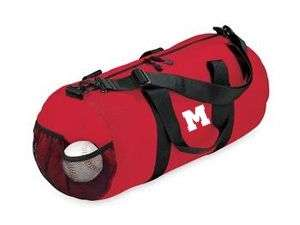 PERSONALIZED barrel duffle bag sports tote duffel NEW