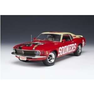 Oklahoma Sooners 1970 Ford Mustang Team Car  Sports