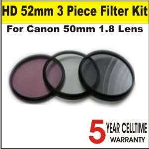 High Definition 52mm 3 Piece Digital Filter Kit (includes