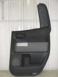07 08 09 10 TOYOTA TUNDRA RIGHT REAR DOOR TRIM PANEL