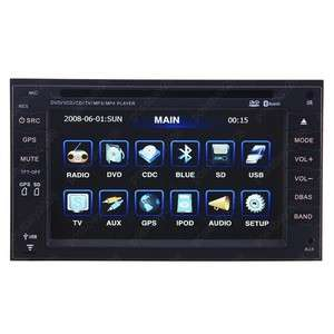 DIN IN DASH CAR DVD PLAYER GPS FOR HONDA FIT CITY CRV
