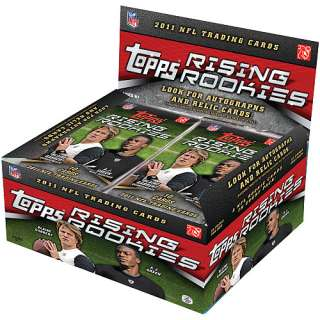 NFL Topps Cards Topps 2011 NFL Rising Rookies Trading Cards   24 Packs