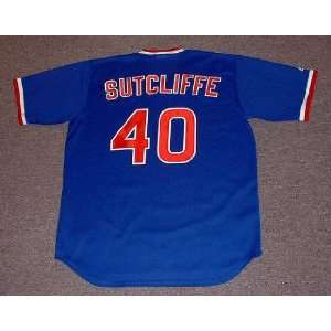 RICK SUTCLIFFE Chicago Cubs 1984 Majestic Cooperstown THROWBACK Away
