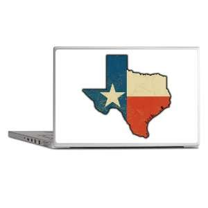 Laptop Notebook 17 Skin Cover Texas Flag Texas Shaped