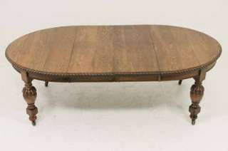 dining table with turned legs scotland circa 1910 48 wide x 56 deep