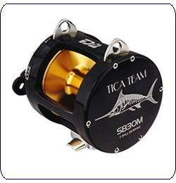 Tica Team SB30M (B) Black Big Game Fishing Reel
