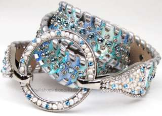 simon SWAROVSKI CRYSTAL BELT BB M 32 NEW $265 NEW