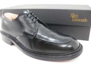 Allen Edmonds BRENTWOOD Black Leather Dress Shoes Oxfords 9 D Retail $
