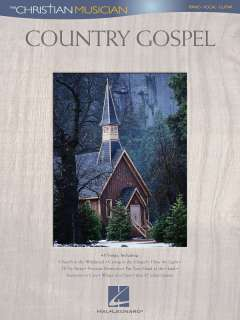 COUNTRY GOSPEL Piano/Vocal/Guitar Song Book, 45 Songs