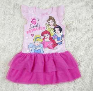 Mouse Top Princess Dress Shirt 1 7Y Party Costume Skirt Tutu