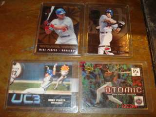 Mike Piazza (4) Insert Cards Lot Upper Deck UC3 & More