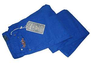 Ralph Lauren Polo Blue Big Pony Match Jeans Denim 36 x 30