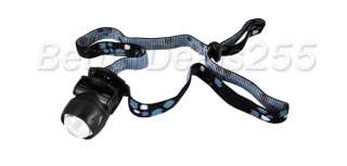 Mini Headlamp Flashlight Super White LED Head Strap New
