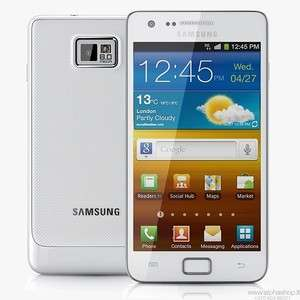 Samsung Galaxy GT I9100 16GB 3G WIFI GPS 8MP Unlocked Cell Phone White