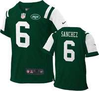 Jersey Home Green Game Replica #6 Nike New York Jets Infant Jersey
