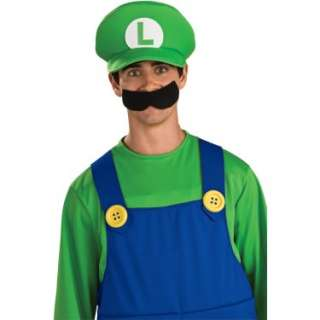 Deluxe Luigi Hat Adult   Costumes, 65843