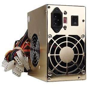Green 650W 20+4 pin Dual Fan ATX PSU w/SATA (Gold) Electronics