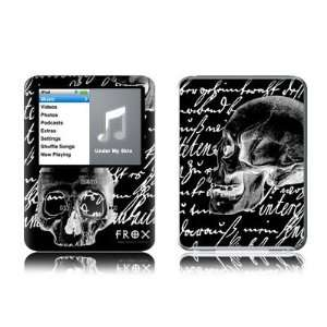 Black Design Protective Decal Skin Sticker for Apple iPod nano