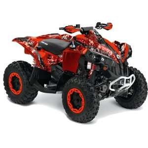 AMR Racing Can Am Renegade 800x 800r ATV Quad Graphic Kit   Mad Hatter
