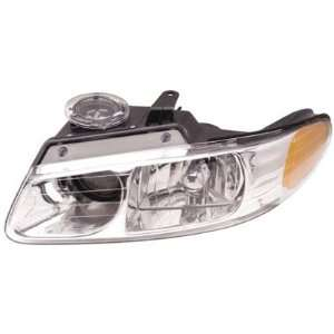 00 00 CHRYSLER TOWN&COUNTRY Left Headlight (W/ QUAD LAMP