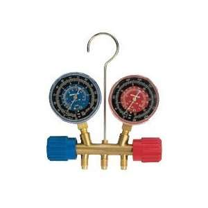 Robinair 40170 Two Way Brass Manifold Gauges  Industrial