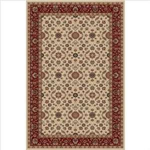 Biltmore 1535 Ivory Red Rug Size 33 x 54