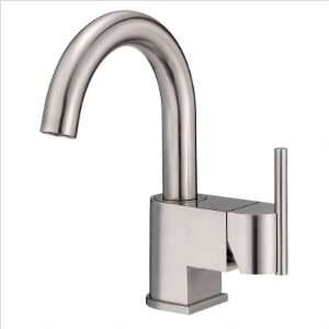 Single Handle Centerset Bathroom Sink Faucet Finish Brushed Nickel