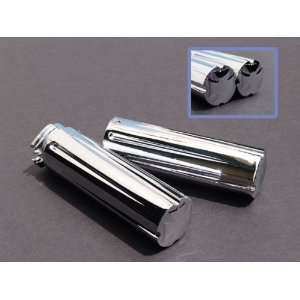 Iron Cross Chrome Billet Grips Harley Davidson Choppers Automotive
