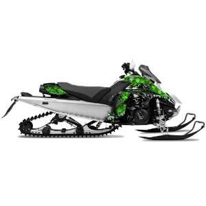 AMR Racing Yamaha Fx Nytro Sled Snowmobile Graphics Decal Kit Reaper