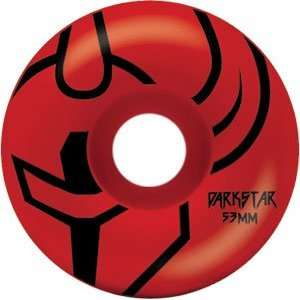 Darkstar Outline 51mm Red Skateboard Wheels (Set of 4
