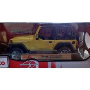 Jeep Wrangler Rubicon diecast model car 118 scale Toys & Games