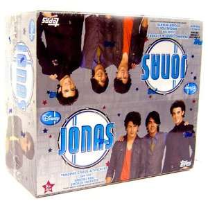 Topps Disney Jonas Brothers Trading Cards and Stickers Box