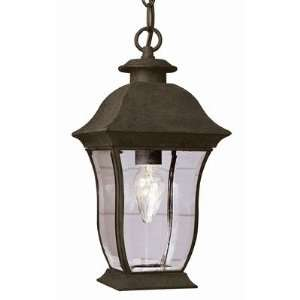 Trans Globe 4975 BK Classic   Two Light Outdoor Hanging Lantern, Black
