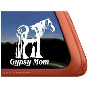Gypsy Mom Horse Trailer Vinyl Window Decal Sticker