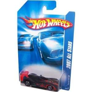Hot   Wheels 164 Diecast car 2007 ALL STARS FERRARI 333 SP BLACK