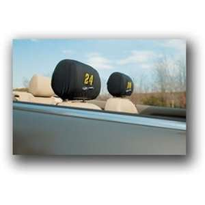 Jeff Gordon NASCAR Headrest Covers Set Of 2 Sports